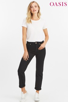 Oasis Black Ruby Trouser