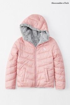 Abercrombie & Fitch Pink Padded Jacket