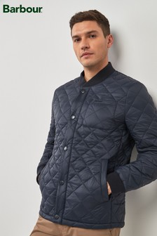 Barbour® Navy Levenish Quilted Jacket