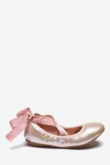 Tie Ballet Shoes (Older)