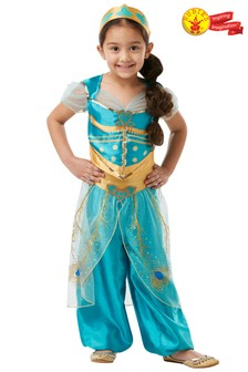 Rubies Disney™ Aladdin Movie Princess Jasmine Fancy Dress Costume