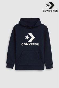 Converse 星 & シェブロン柄 パーカー
