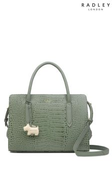 Radley Green Medium Multiway Grab Zip Top Bag