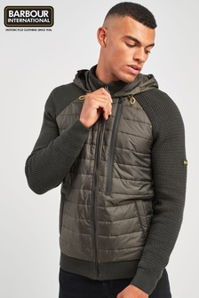 Barbour® International Clee Hill Knit Hoody