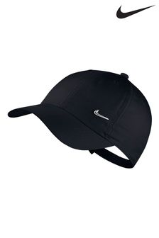 Nike Kids Heritage 86 Black Cap