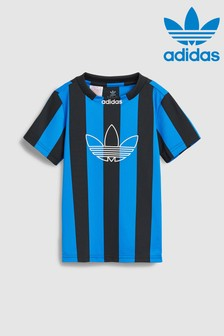 adidas Originals Little Kids Radkin Striped Jersey