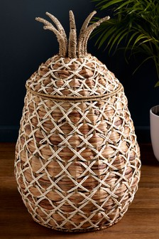 Pineapple Laundry Basket