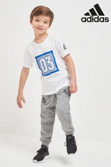 adidas Little Kids Grey Jogger