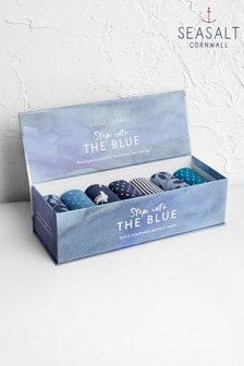 מארז שבעה זוגות גרביים לנשים של Seasalt דגם Cleansing MixWomen's Blueprint Box O'Socks