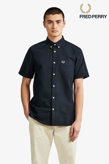 Fred Perry Classic Oxford Short Sleeve Shirt