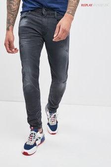 Replay® Anbass Hyperflex Slim Fit Jean