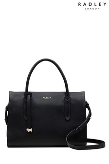 Radley Black Medium Multiway Grab Compartment Bag