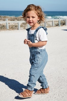 Denim Frill Playsuit (3mths-7yrs)