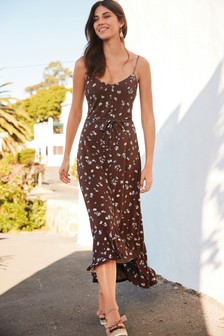 a97aa11129dd Brown Dresses | Printed & Midi Brown Dresses | Next Official Site