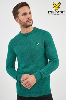 Lyle & Scott Mottled Knitted Jumper