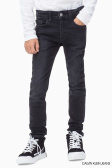 Calvin Klein Jeans Black Skinny Jasper Stretch Jean