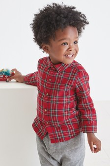Long Sleeve Check Shirt (3mths-7yrs)