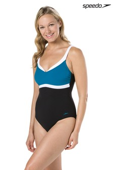 Speedo Black Aqua Jewel Swimsuit