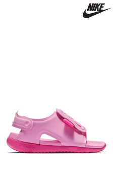 Nike Pink Sunray Adjust Infant Sandals