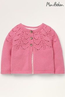 Boden Pink Cosy Cardigan