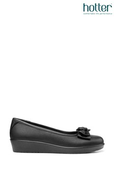 Hotter Jade Slip On Ballerina Shoes