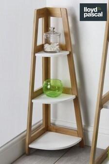 Lloyd Pascal Bamboo Corner Shelf