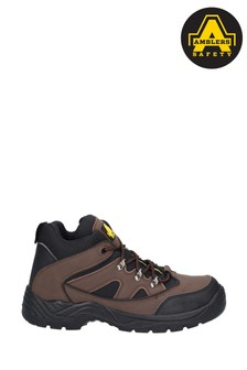 Amblers Safety Brown FS152 Vegan Friendly Safety Boots