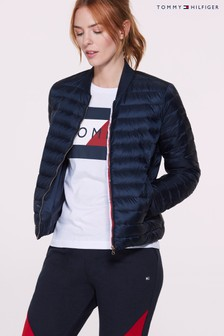 Tommy Hilfiger Women Navy Bella Lightweight Down Jacket