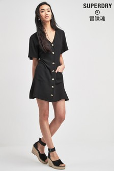 Superdry Black Darcy Dress