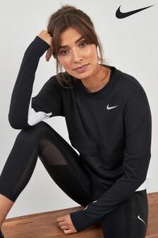 Nike Dri-FIT Black Therma Sphere Running Tee