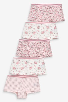 5 Pack Floral Boxers (2-16yrs)