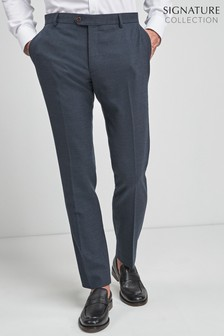 Signature Wool Blend Stretch Flannel Trousers