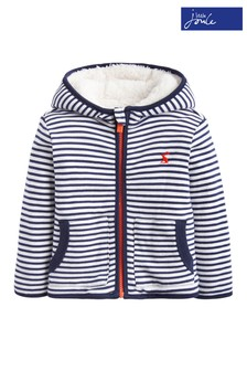 James Navy Stripe Reversible Jacket