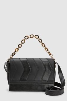 Resin Chain Across-Body Bag