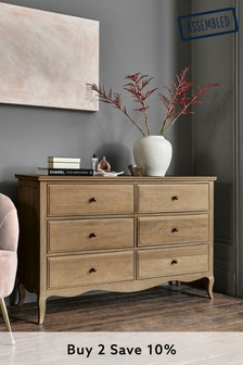 Madeline 6 Drawer Wide Chest