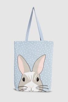 Сумка-шоппер с кроликами
