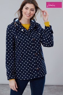 Joules Coast Print Waterproof Jacket