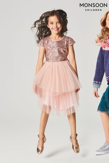 Monsoon Safire Sparkle Dress