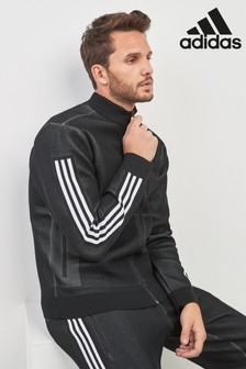 adidas ID Knitted Black Track Top