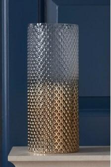 Pressed Ombre Vase