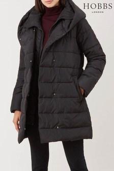 Hobbs Black Hadley Padded Jacket