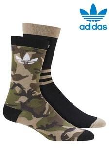 adidas Originals Camo Socks Two Pack