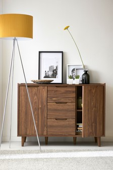 Oslo Walnut Large Sideboard