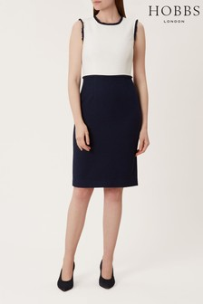 Hobbs Blue Alice Dress