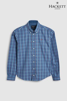 Hackett Kids Artic Blue Shirt