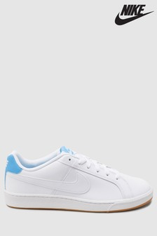 Nike White/Blue Court Royale