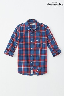 Abercrombie & Fitch Blue And Red Check Shirt