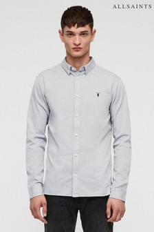 All Saints Redondo Slim Fit Shirt