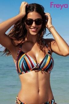 Freya Bali Bay Stripe Soft Triangle Bikini Top