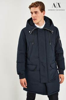 Armani Exchange Longline Coat